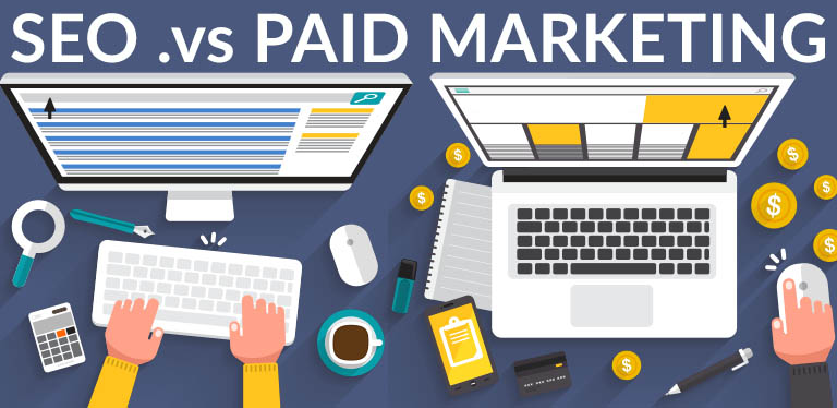 SEO vs Paid Marketing  Is SEO good for lead generation? seovpay
