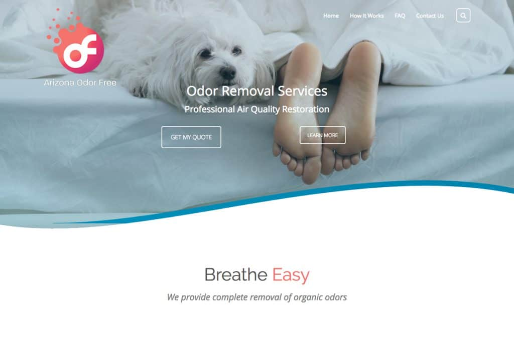 Arizona Odor Free web design web designers near me Web Design for Professionals by Professional Web Designers aof grid 1024x683