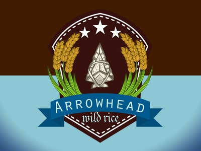 Graphic Design arrowhead logo dribbble