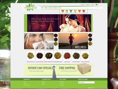Graphic Design herbalmiss full background dribbble