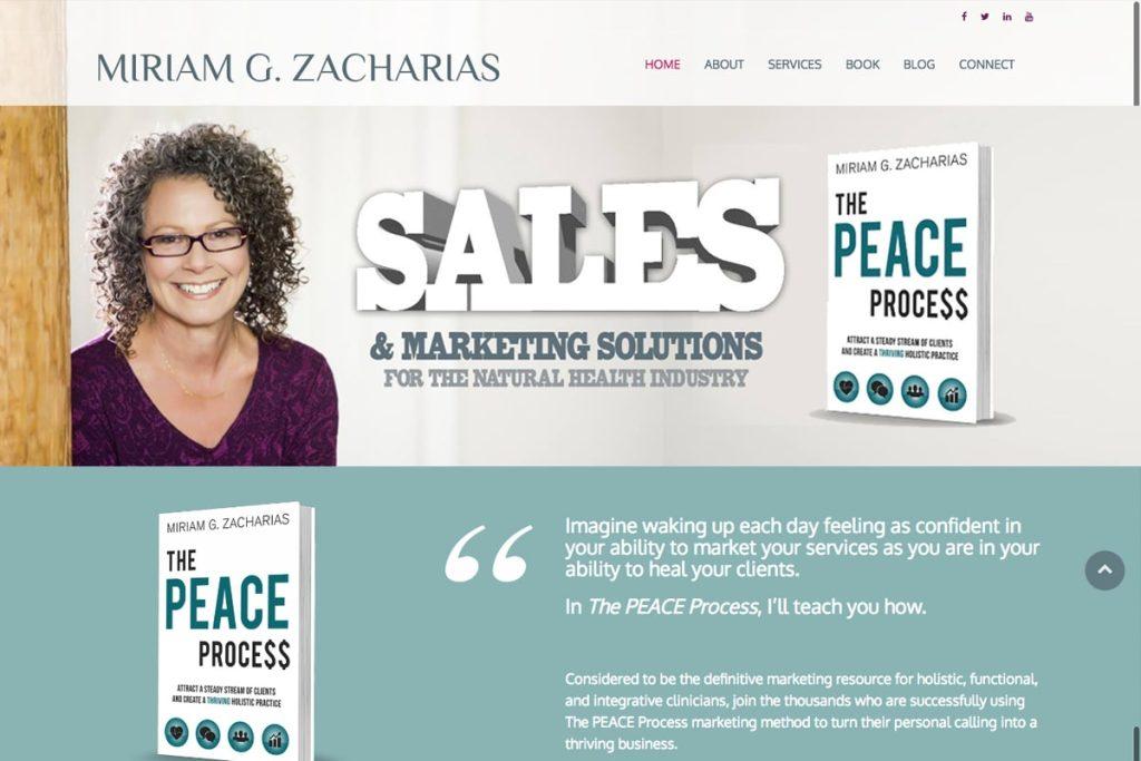 Miriam Zacharias web design projects Web Design Projects miriamzacharias 1 1024x683