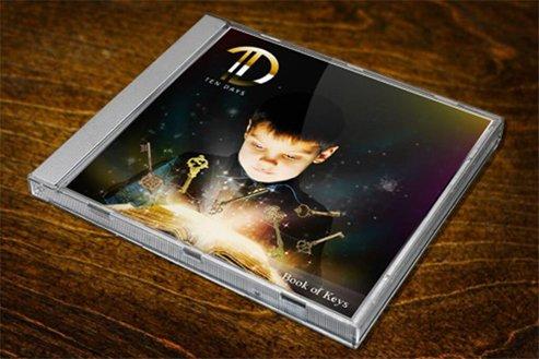 TEN DAYS DVD Cover Design